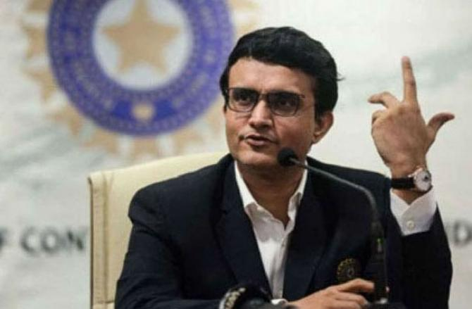 Sourav Ganguly . Picture:INN