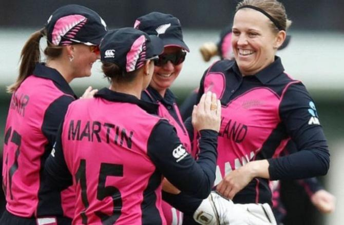New Zealand Women`s First Victory. Picture:INN