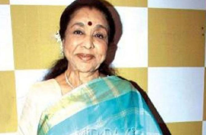Asha Bhosle. Picture:INN