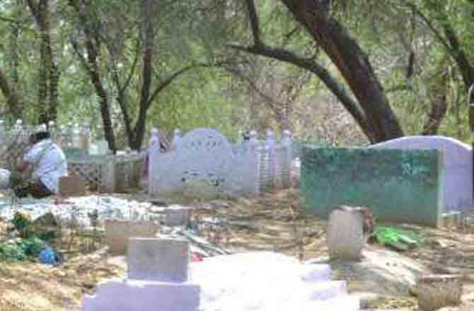 Bihar Cemetery - Pic : Inquilab