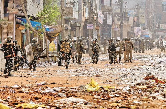 Delhi Violence - Picture : PTI