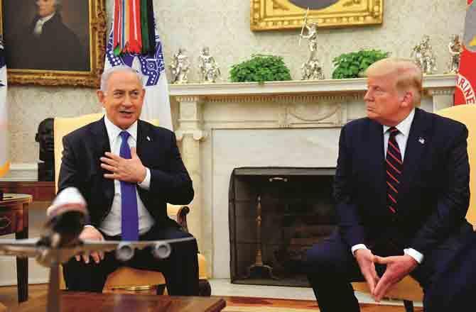 Trump and Netanyahu - Pic : Agency