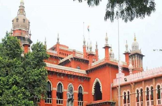Madras High Court.Picture:INN