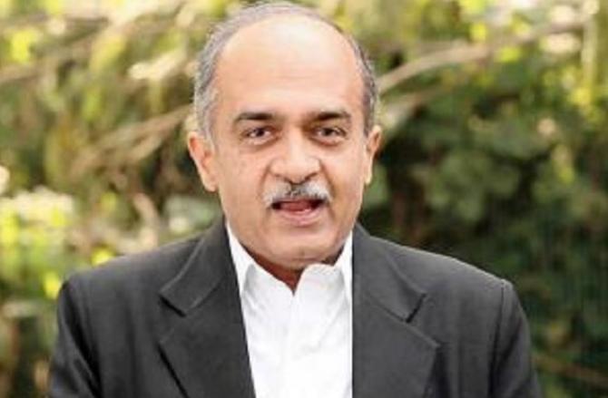 Prashant Bhushan.Picture:INN