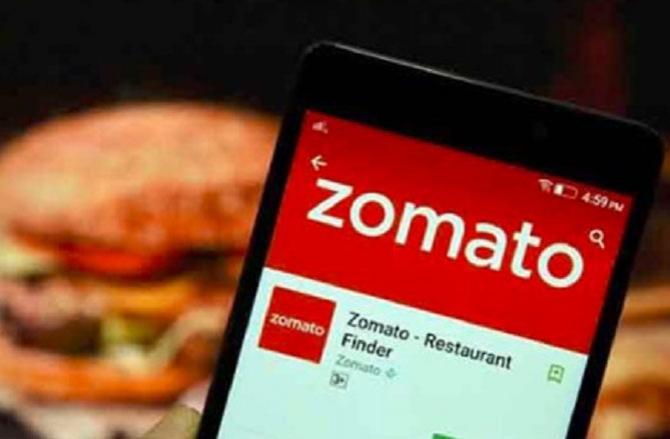 Zomato .Picture:INN
