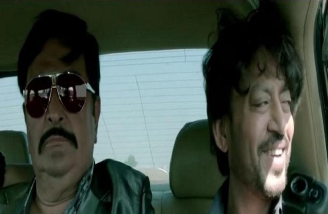 Rishi Kapoor And Irfan Khan.Picture:INN