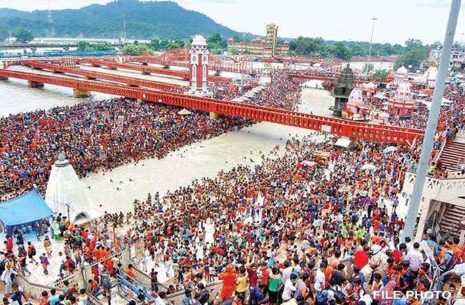 Kumbh Mela .Picture:INN