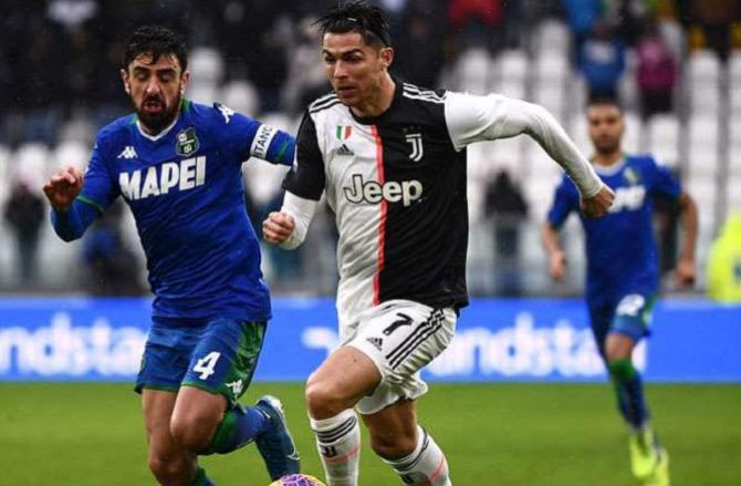 Cristiano Ronaldo. Picture:INN