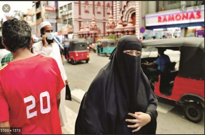 Sri Lanka is preparing to ban the burqa.Picture:PTI
