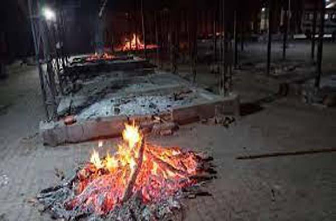Cremation ground. Picture INN