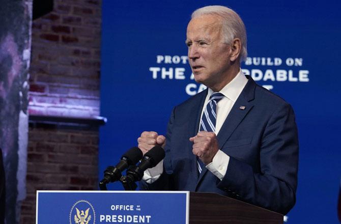 Joe Biden - Pic : PTI