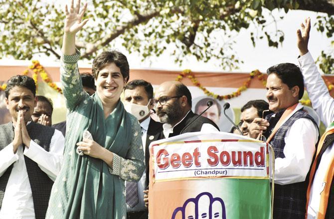 Priyanka Gandhi - Pic : PTI
