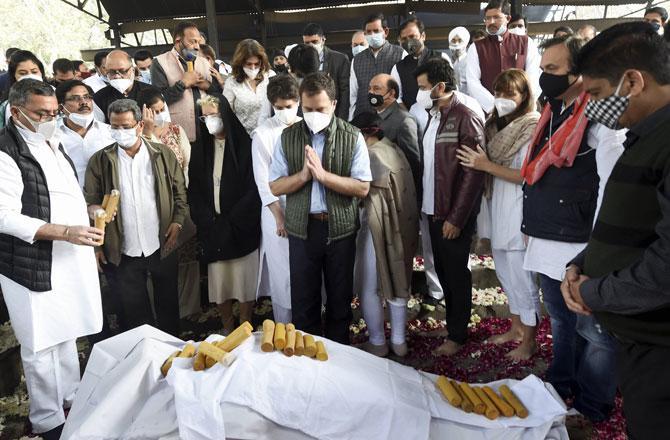 Rahul Gandhi - PIC : PTI