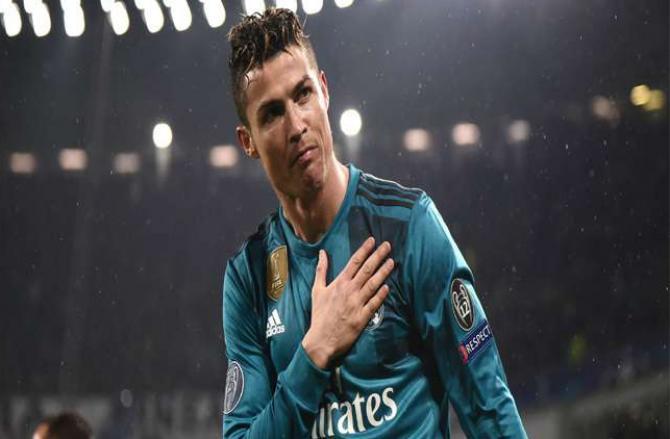 Cristiano Ronaldo .Picture :INN