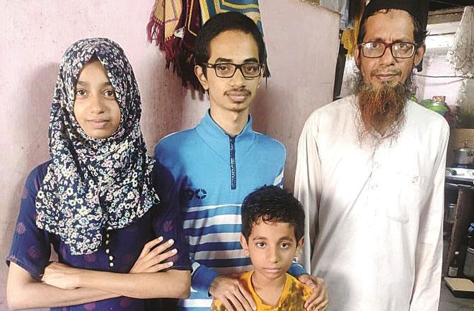 Elaf Ansari with Family