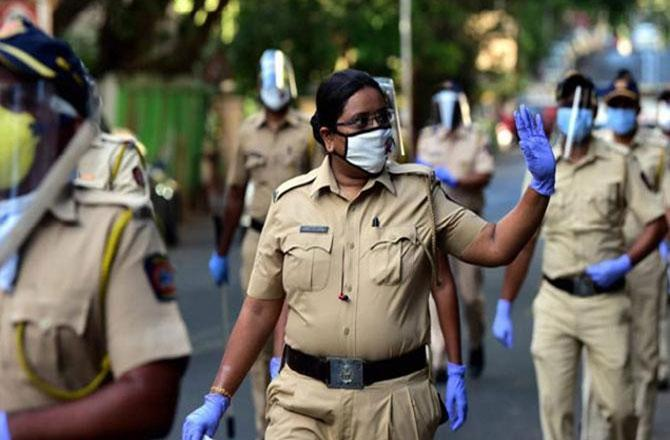 Mumbai Police - Pic : MidDay
