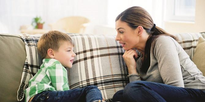 Use encouraging phrases for your children.Picture:INN