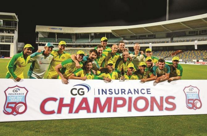 Australia beat West Indies in ODI series.Picture:INN