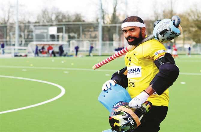 India`s veteran hockey goalkeeper PR Sreejesh.Picture:PTI