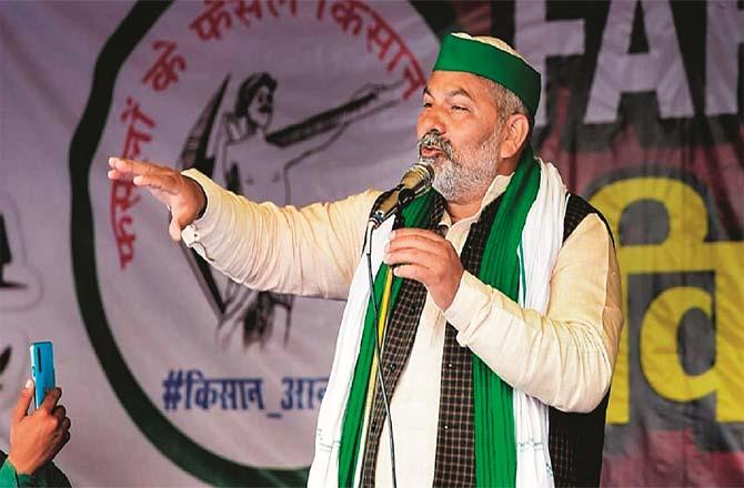 Rakesh Tikait has suffocated the BJP through the Kisan Tehreek