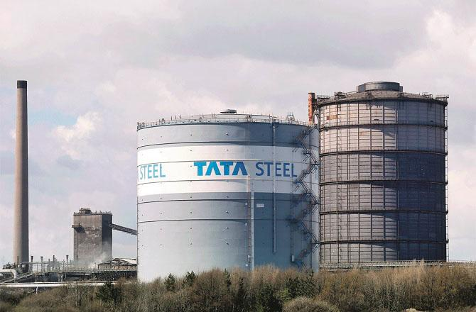 Tata Steel reduced its debt by 24% in the Corona crisis.Picture:INN