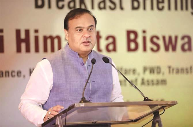 Assam Chief Minister Hemant Biswa Sharma`s controversial statement is being condemned.Picture:PTI