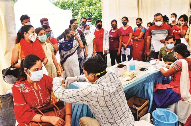 Vaccines are being lined up in Patna, the capital of Bihar. Picture: PTI