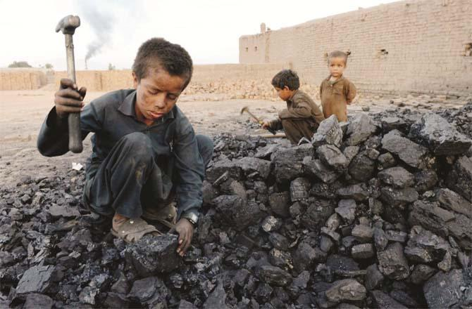 Millions of children are involved in activities that could endanger their health. (File photo)