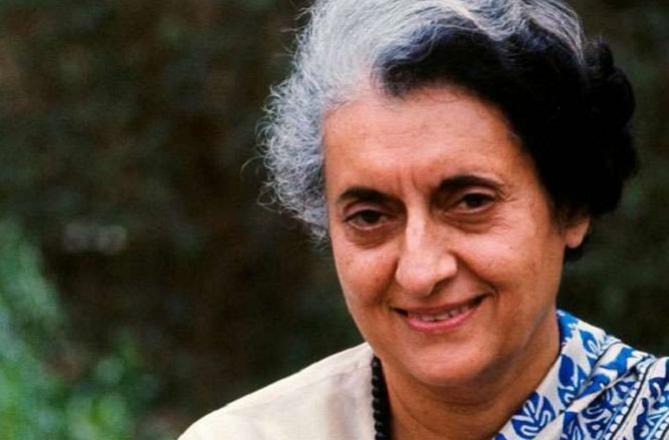 Indira Gandhi.Picture:INN