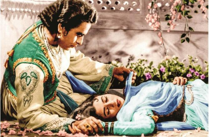 Mughal Azam is an excellent film.Picture:INN