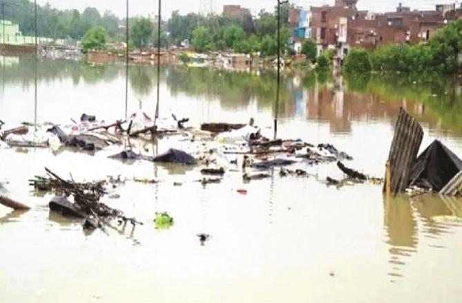 This is the condition of a river. Picture: Inquilab