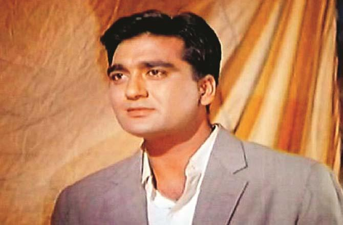 A memorable portrait of Sunil Dutt, a famous actor of the past.Picture:Midday
