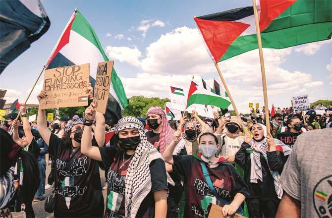 Washington`s support for Palestine and its opposition to Israel are unbelievable.Picture:PTI