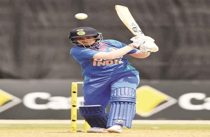 Women`s team India`s star batsman Shafali Verma.picture:PTI