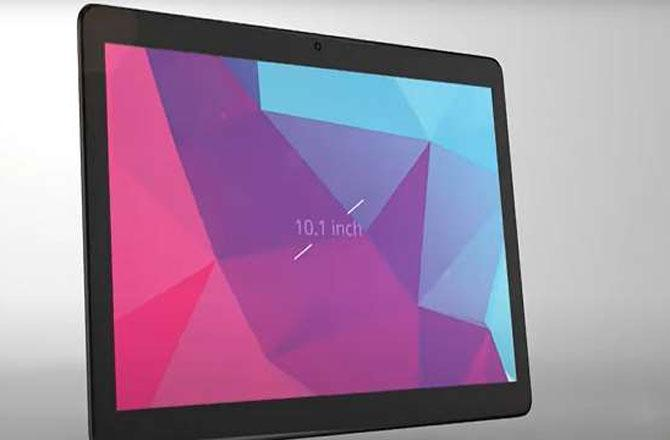 Lava Tablet - Pic : INN