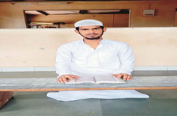 Hafiz Muhammad Afroz bin Athar Hussain.Picture:Midday