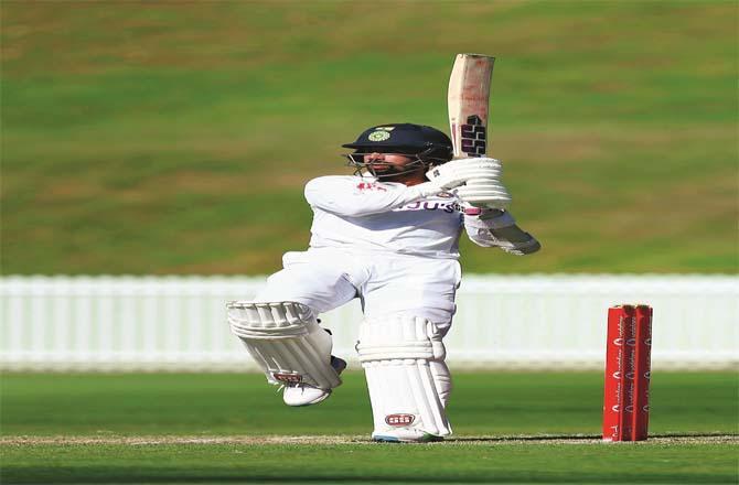 Indian cricket team wicketkeeper-batsman Radhiman Saha.Picture:PTI
