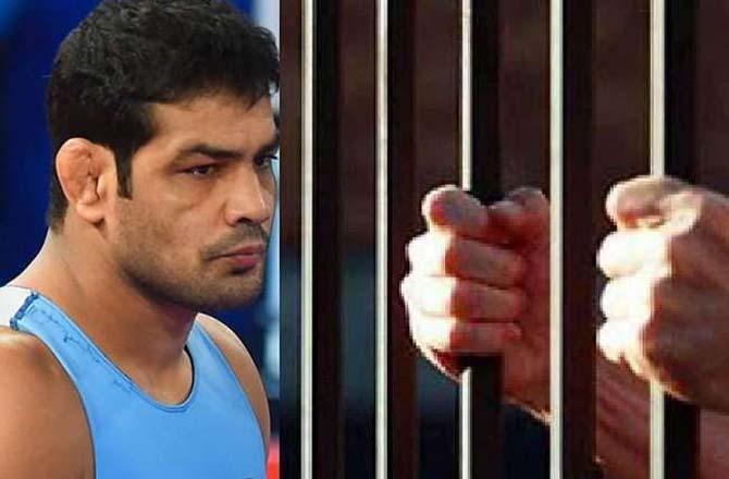 It is said that Sushil Kumar badly beat wrestler Sagardhankar with thugs.Picture:INN