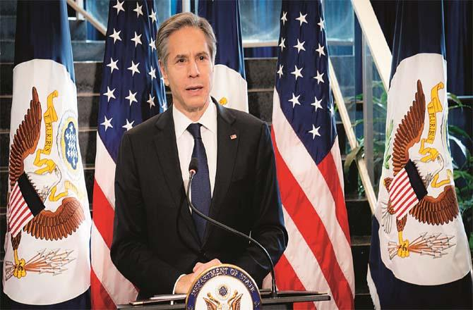 US Secretary of State Anthony Blanken.Picture:FilePhoto