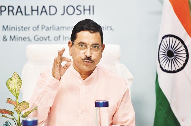 Union Minister Pralhad Joshi.