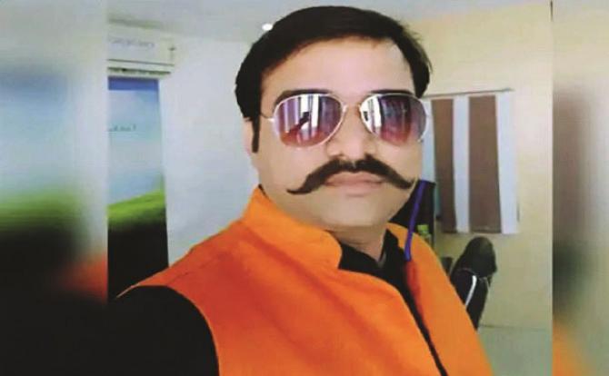 Manish Gupta killed.Picture:INN