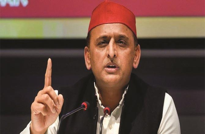Samajwadi Party chief and former Uttar Pradesh chief minister Akhilesh Yadav.Picture:INN