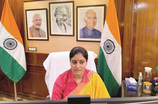 Minister of State for Commerce and Industry Anupriya Patel.Picture:INN
