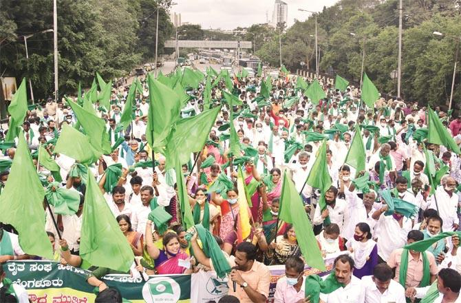 Efforts to sabotage the successful farmers` movement are ongoing. (Photo: PTI)