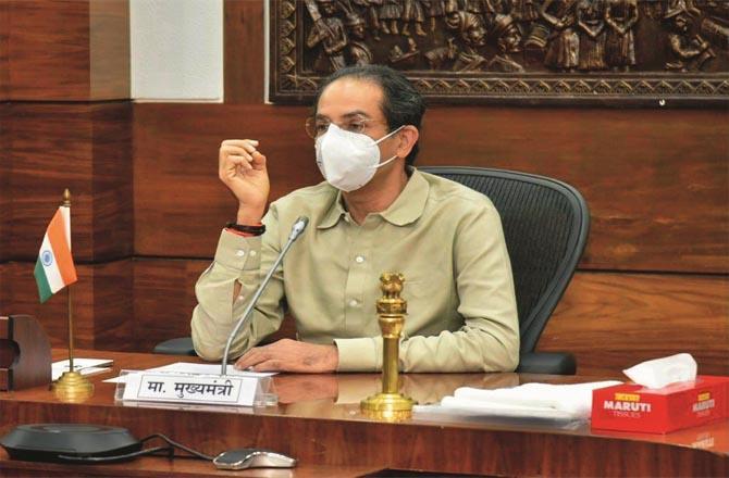 Chief Minister uddhav Thackeray has replied to Governor Koshiari in his own language.Picture:INN