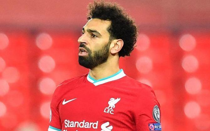 Mohamed Salah. Picture:INN