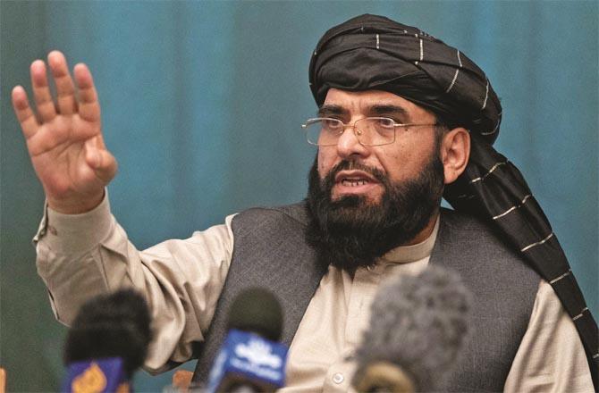 Taliban spokesman Suhail Shaheen expected to be Turkey friendly (file photo)